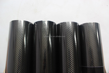 top quality 3 layers 5D carbon fiber film/5D glossy carbon fiber film/5D carbon