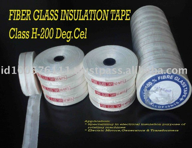 Indonesia EMAP Wrapping Coil of Generators Electric Motors and Transformers High Voltage Fiberglass Insulation Tape