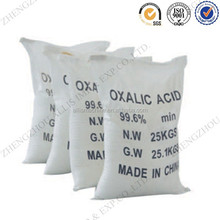 25kg pp bag COA certificate qualified quality oxalic acid msds for leather