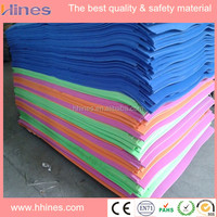 High quality cleaning window and floor TPE rubber foam sheet material