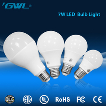 Low cost 7w E27 3000k-6500k led light bulb , 900LM 7w led bulb lighting