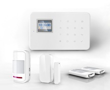 KR-G18/G183/W18 GSM/WIFI/3G Optional Home Security Alarm System DIY Kit