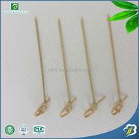 wholesale Disposable Food Use Natural High Quality Fruit Bamboo Sticks BBQ skewers