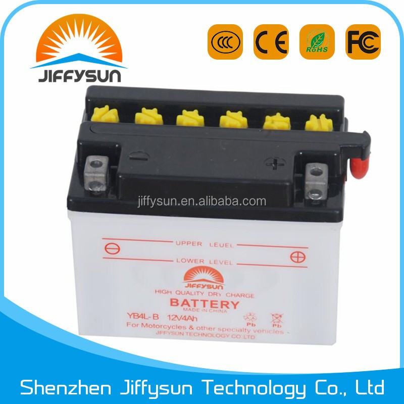 YB4L - B 12v rechargeable battery for motorcycle