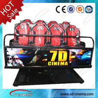 2014 5d 6d 7d 9d Cinema 6 seats truck mobile xd cinema 7d theater movie