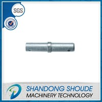 Steel frame scaffolding gravity joint pin coupling pin