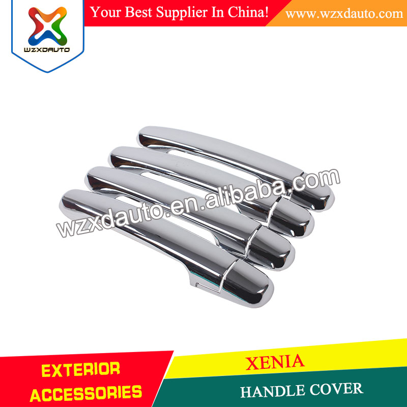 Chrome Door Handle Handles Cover Trim HANDLE COVER FOR TOYOTA AVANZA 2012