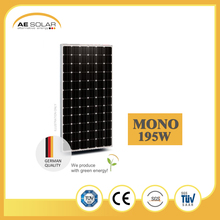 High Quality AE M5-72 Series 195w Mono Solar Panel And Low Price Mini Solar Panel Mounting System