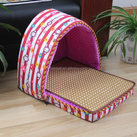 Excellent quality hot selling washable dog house cat bed timber dog kennel house