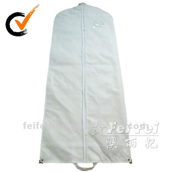 Long Non Woven Fabric Wedding Garment Bag Dry Clean