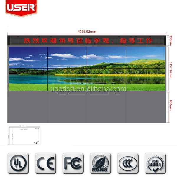 SAMSUNG tiled LCD/LED Video Walls and Controllers