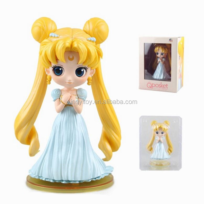 Japan anime figure Sailor Moon Qposket Series Sailor Moon Type C 15cm toy action figure