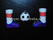 plastic finger topper football game for promotion
