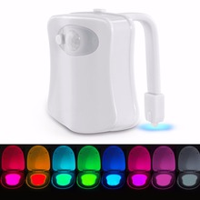Wholesale night light bases motion sensor toilet light small battery operated led light for bathroom