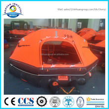 Throw over boart liferaft for 10person