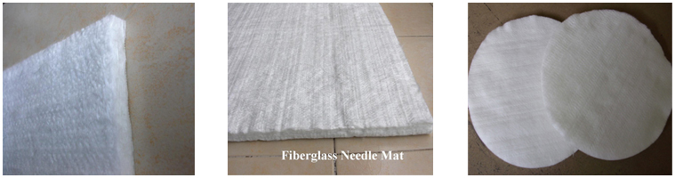Excellent Tensile Strength Fiber Glass Needled Mat for Table and Chair