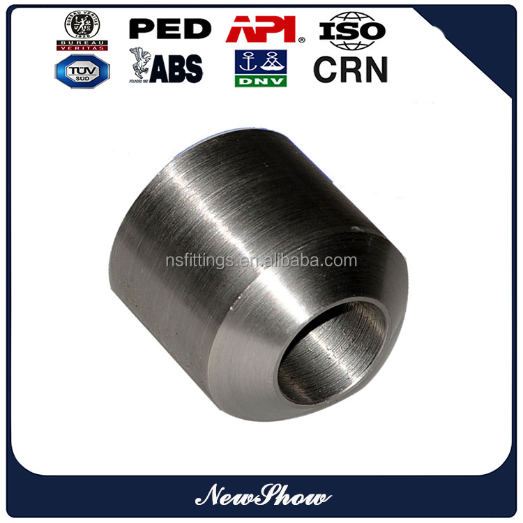 Custom Made Forged High Pressure 3000# Threaded NPT Boss