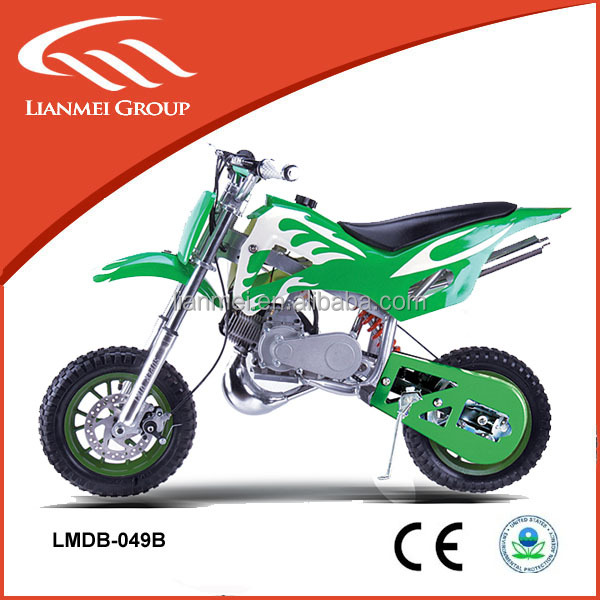 49cc mini gas motorcycles 49cc kids dirt bike made in china