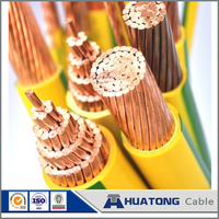6mm 10mm 16mm 25mm 35mm 50mm 70mm 95mm Yellow Green PVC copper earth ground cable