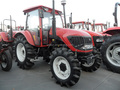 2017 hot sale farm tractor 75hp SWT754 with AC cabin for Africa market
