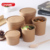 paper disposable soup container box/hot food packing box