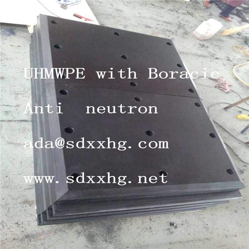 low price boracic uhmwpe sheet/12% boron plastic borated sheet