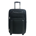 20 inch soft polyester cabin travel trolley luggage bag for sale
