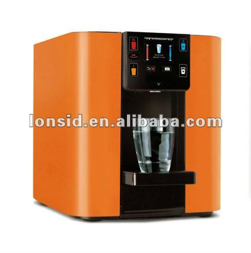 new generation energy saving office reverse osmosis TFT touch panel hot cold mini desktop water dispenser