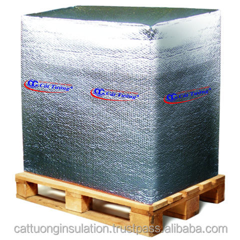 metalized plastic bubble insulation for packing material