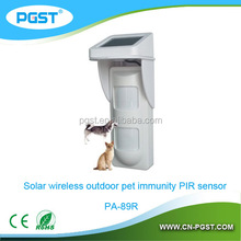 Pet immune Z-Wave passive infrared motion detector pir sensor
