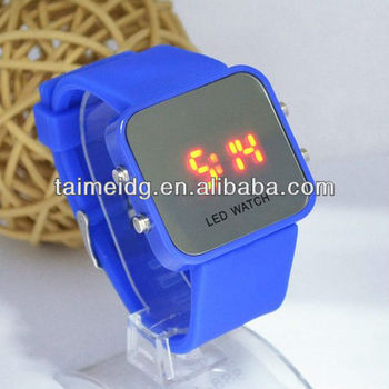 (TM-1347) LED touch screen watch silicone touch screen watch LED watch silicone watch2013