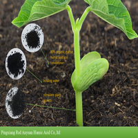 base fertilizer humic acid and potassium humate for use in organic farming