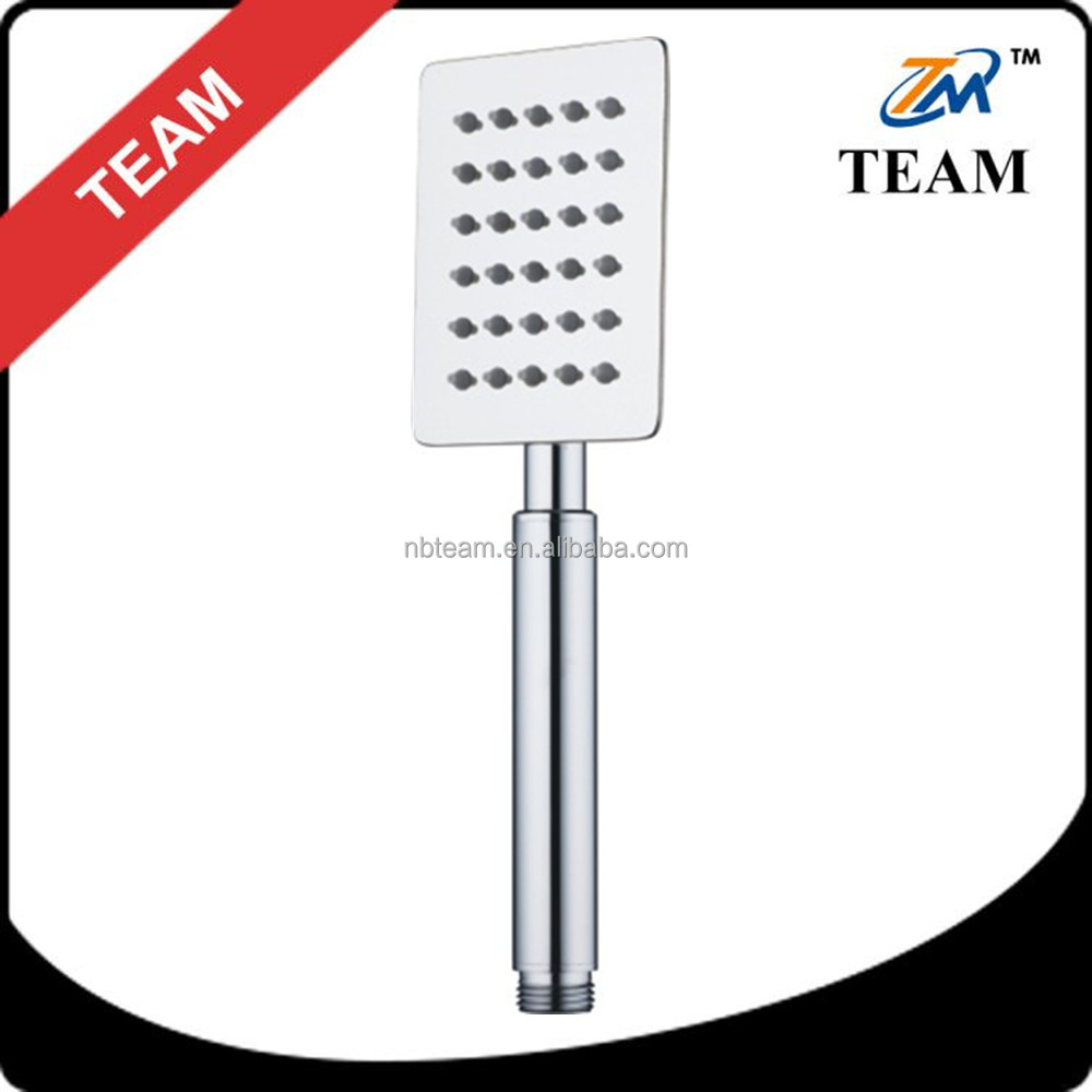 Stainless steel ultra slim hand shower head