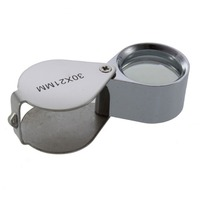 30x 21mm Jewelers Eye Loupe Loop Magnifier Magnifying Glass