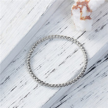 Zinc Based Alloy Cable Twisted Circle Ring Silver Tone Jewelry Connectors For Bracelet