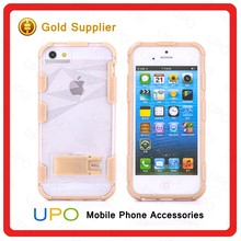 [UPO] Ultra Slim Sport Transparent PC+TPU Hard Cover Phone Case For iPhone 5