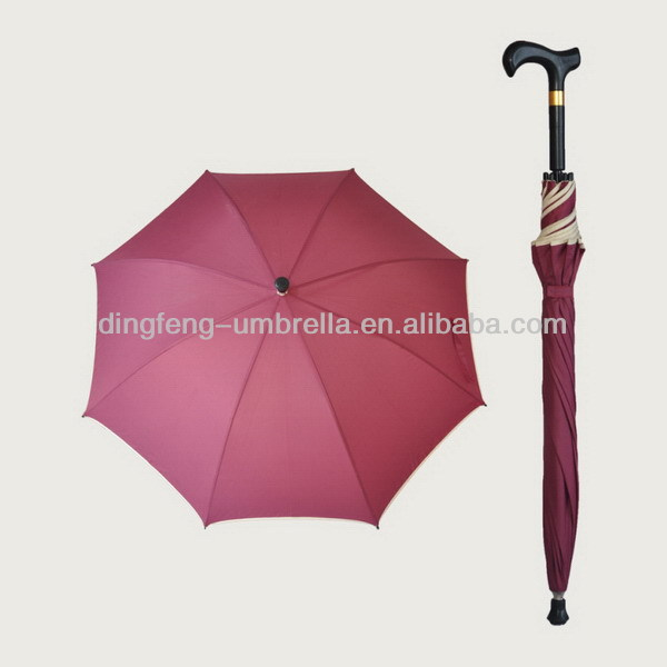 Promotional popular wooden offset umbrella