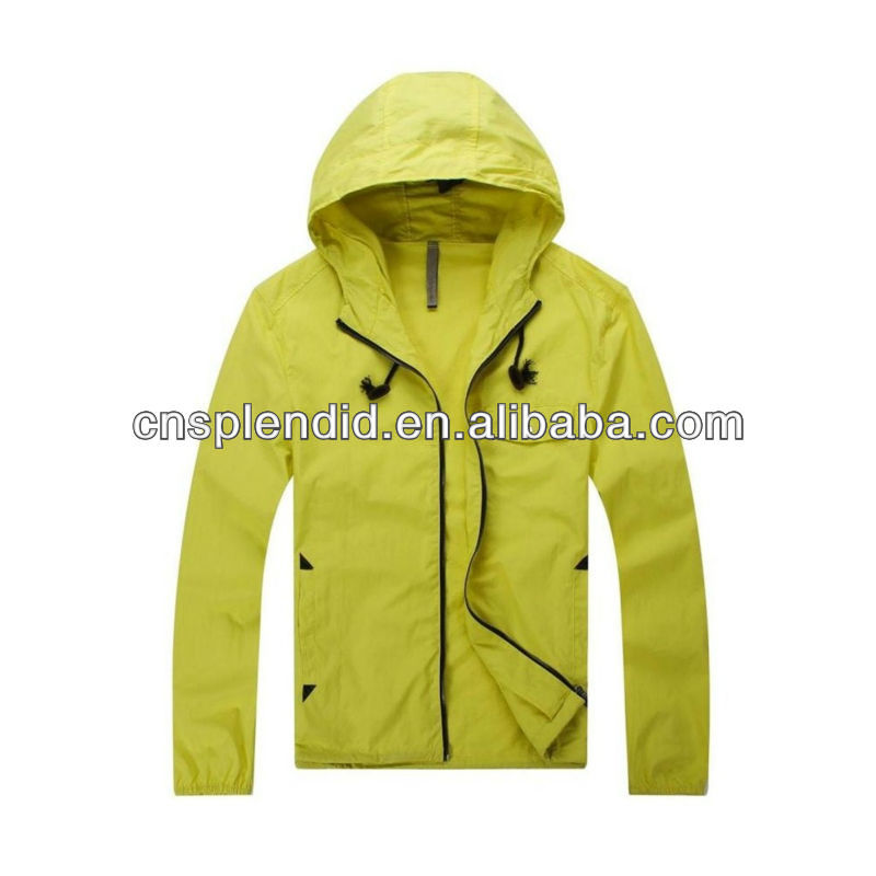 European style windbreaker 2012 mens coat designs