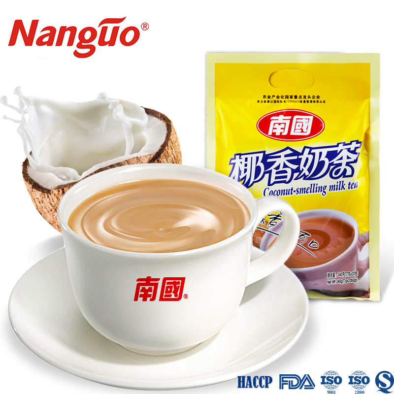 instant coconut milk <strong>tea</strong> 3 in 1/ High quality milk <strong>tea</strong> powder 340g