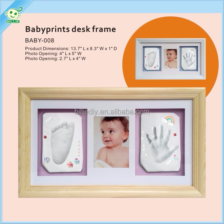 baby hand casting kit for frame desk clay