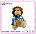 Animated Singing Monkey Plush Toy With Expanding Cheeks