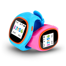 Bluetooth GPS/GSM/GPRS SOS watch phone with front camera kids gps tracker