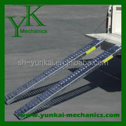 "Steel Motorcycle/Moped/Lawnmower Loading Ramp 72"" Long 9"" Wide"