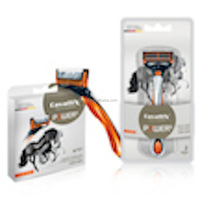 Razors blade shaving system for smooth skin and long lasting effect