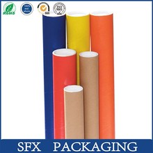 Factory wholesale custom made biodegradable top quality kraft paper mailing tube