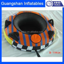 adult inflatable plastic water towable and snow tube