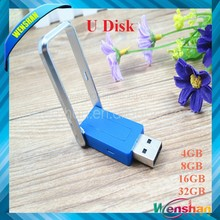 Superior rotatable metal usb flash drive for gift