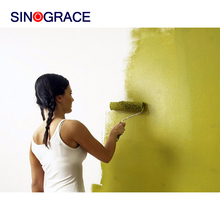 water based acrylic emulsion paint has good adhesive with building material