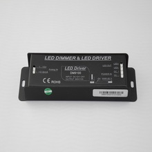 0 10V DMX Controller Dimmer Driver with 1 channel 10A DC12V DC24V Constant Voltage RGB led light controller