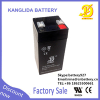 china supplier4v 4ah rechargeable electric toy car deep cycle battery